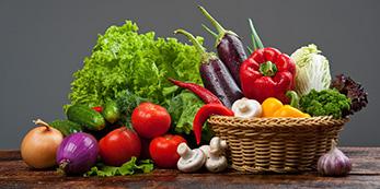 Gemüsekorb für Ernährungstherapie in Essen